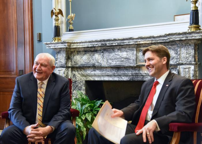 Sasse, Nebraska Agriculture Leaders Meet with Secretary of Agriculture Nominee